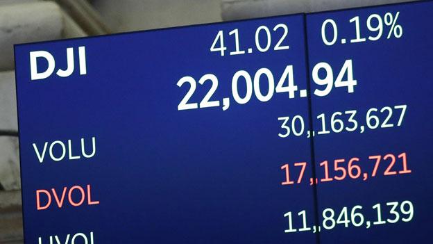 Dow Jones im Höhenflug
