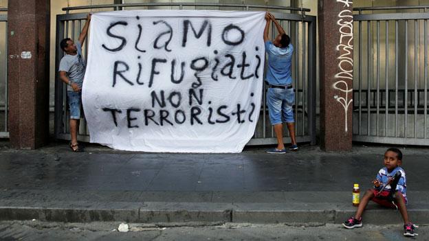 In Italien nimmt die Solidarität mit Flüchtlingen ab