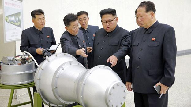 Audio ««Die Sprengkraft war viel höher als bei früheren Tests»» abspielen.