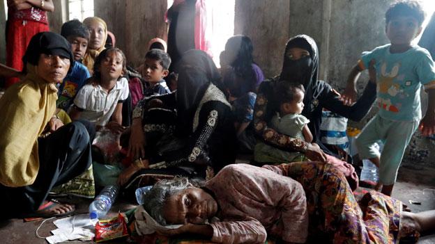 Unerwünscht - auch in Bangladesch