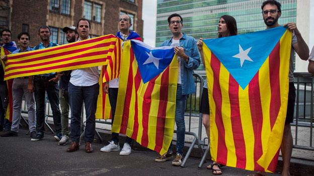 Beziehungsdrama zwischen Katalonien und Spanien