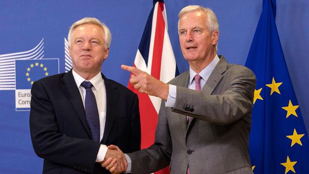 Blockierte Brexit-Verhandlungen