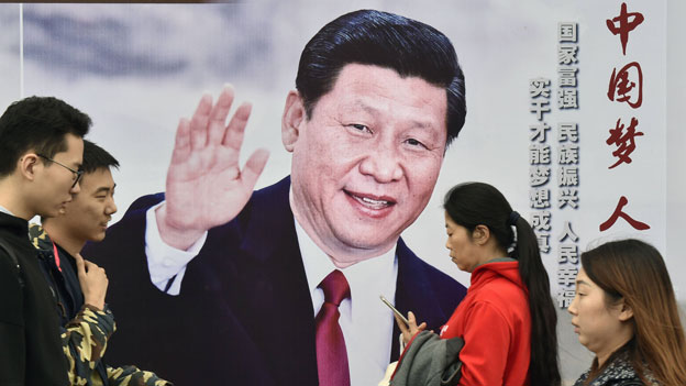Xi Jinpings Machthunger