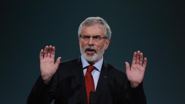 Gerry Adams zieht sich aus der Politik zurück