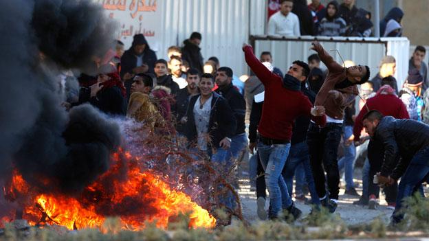 Aufruhr in der arabischen Welt
