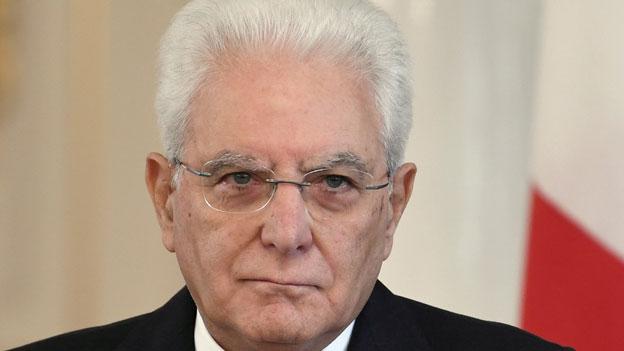 Italien: Präsident Mattarella wird Parlament auflösen