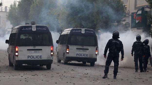 Es brodelt erneut in Tunesien