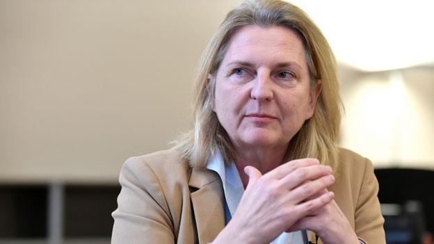 Österreichs Aussenministerin besucht Rom