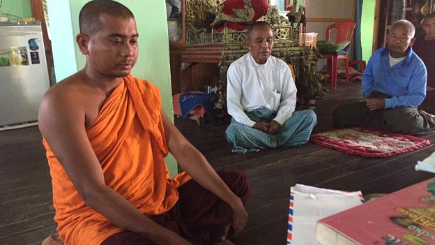 Schwieriger Besuch zweier Rohingya-Dörfer