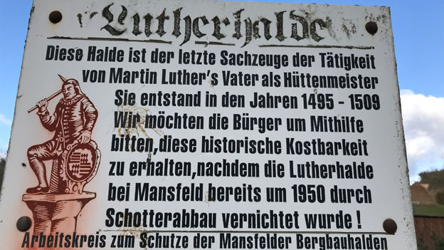 Die Lutherhalde - der berühmteste Steinhaufen Deutschlands