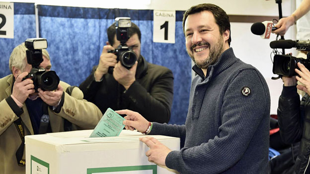 Welche Pläne hat Matteo Salvini?