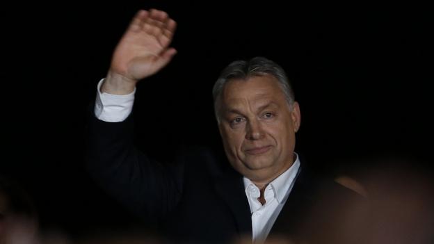 Ungarns Premier Orban kann deutlichen Wahlsieg feiern