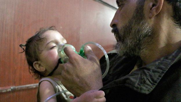 Giftgas-Anschlag in Syrien soll untersucht werden