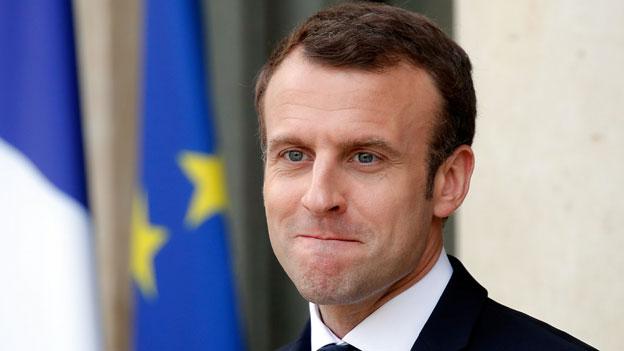 Macron erneuert seine ehrgeizigen Visionen vor EU-Parlament
