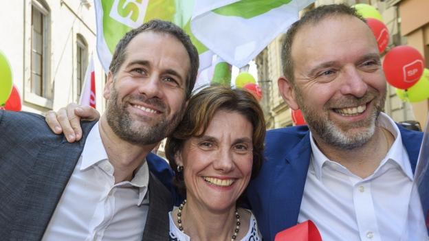 Linke strahlt - bürgerliches Bündnis verliert Mehrheit in Genf