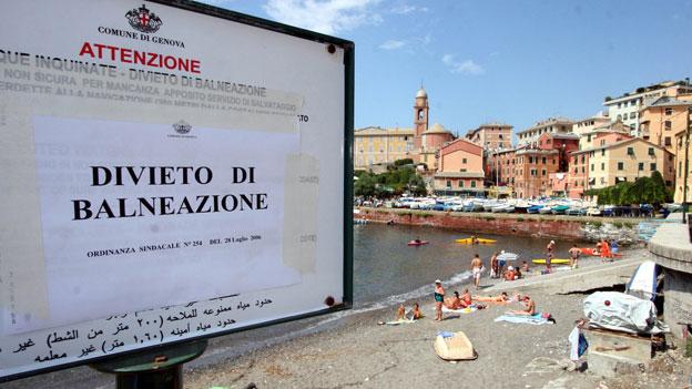 Saftige Busse für Italien wegen Abwässern