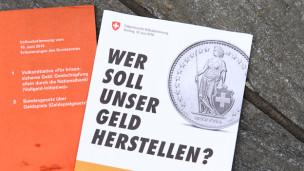 Audio «Klare Abfuhr für Vollgeld-Initiative» abspielen.