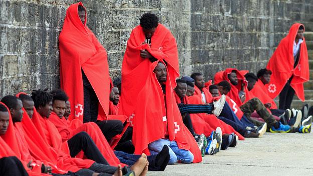Spaniens Flüchtlingspolitik