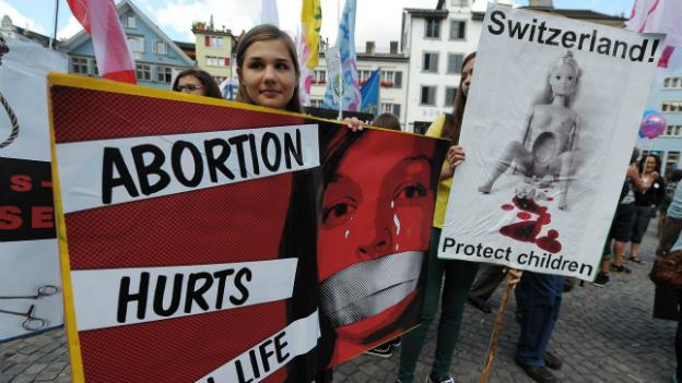 Abtreibungsgegner lassen nicht locker
