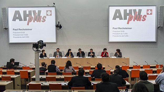 Gewerkschaftsbund lanciert Initiative «AHVplus»