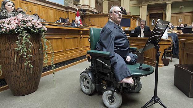 Nationalrat beharrt auf voller IV-Rente ab 70 Prozent Invalidität
