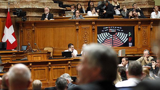 «Lex USA»: Das Parlament gibt sich selbstbewusst