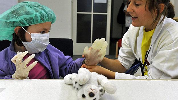 Spitalbakterien - tödliche Gefahr für Kinder