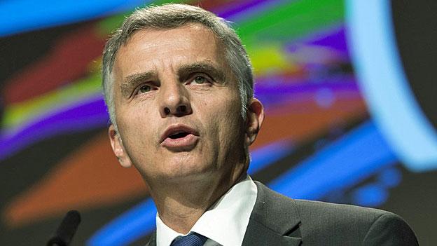 Der neue Bundespräsident Didier Burkhalter