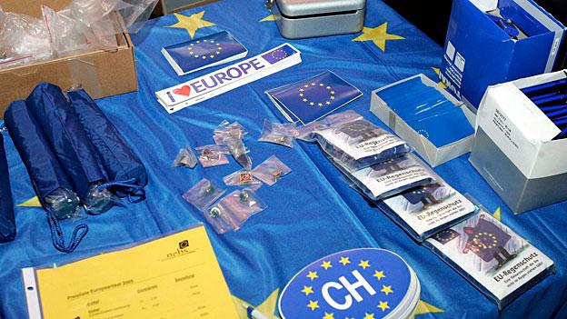 EU-freundlichen Kräfte in der Schweiz verspüren Aufwind