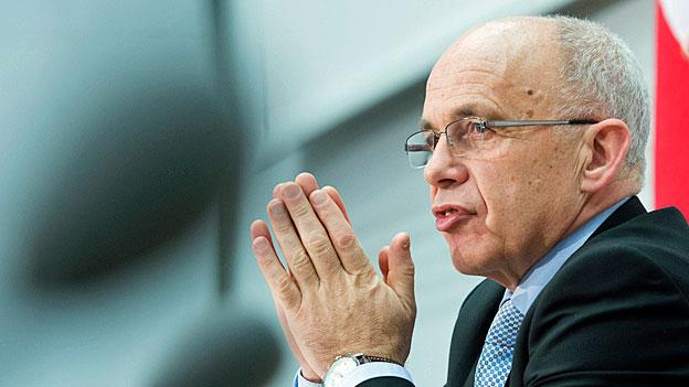 Bundesrat Ueli Maurer bedauert Kollegenschelte