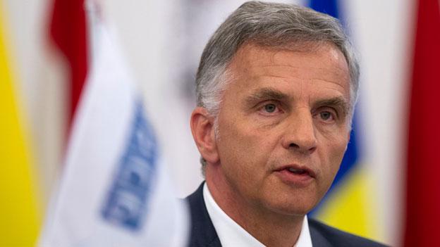 OSZE: Burkhalter verurteilt Geiselnahme