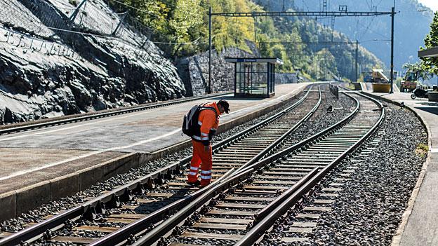 Grosser Nachholbedarf beim Unterhalt des SBB-Schienennetzes