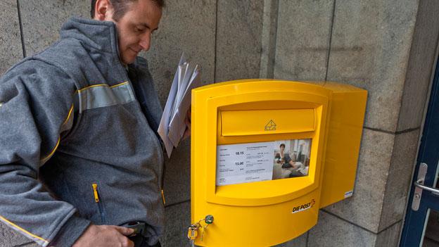 Post findet neue Geschäftsfelder