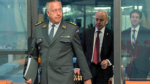 Wenige aber schnelle Soldaten - die neue Schweizer Armee