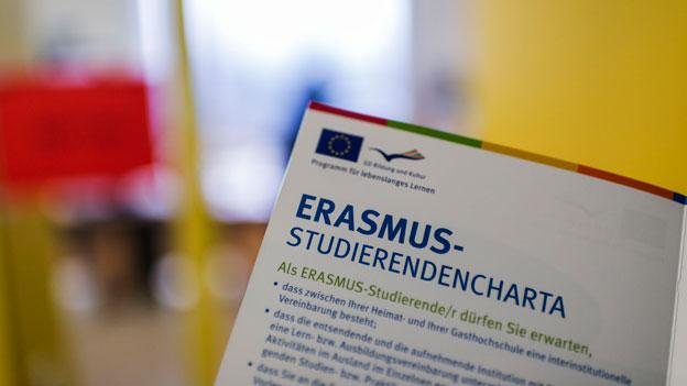 Erasmus: Übergangslösung für Schweizer Studenten