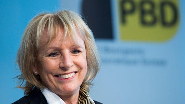 Ursula Haller: nach 15 Jahren Abschied vom Bundeshaus