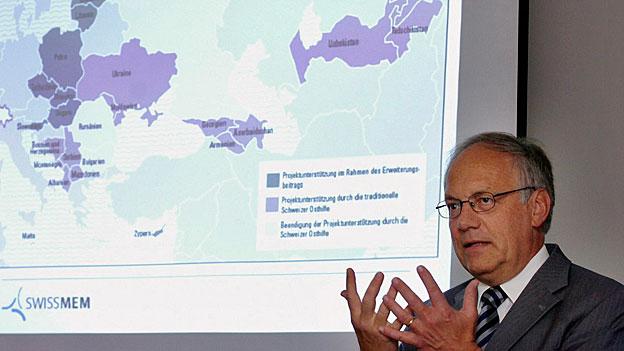 Schweizer Beitrag zur Osterweiterung - erfolglose Förderprojekte