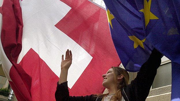Allianzen gegen die Isolation der Schweiz in Europa