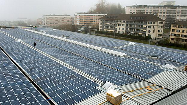 Optimismus in der Alternativenergie-Branche