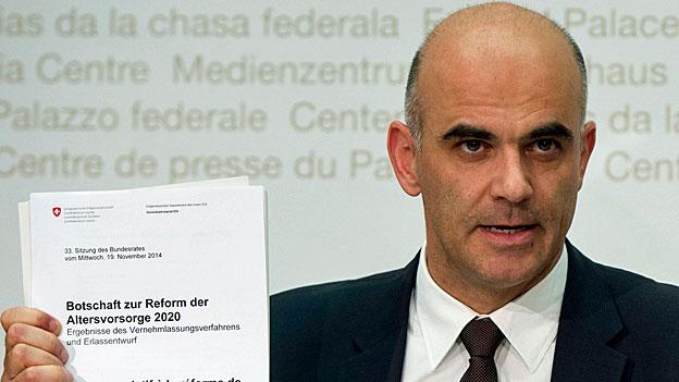 Altersvorsorge 2020 - Bundesrat will Paketlösung