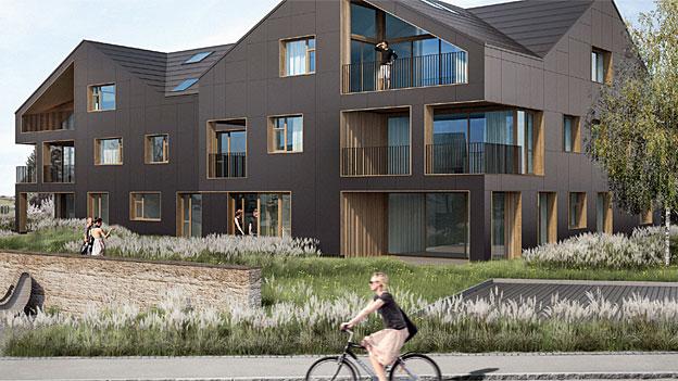 panorama schweizer pilotprojekt das haus der zukunft. Black Bedroom Furniture Sets. Home Design Ideas