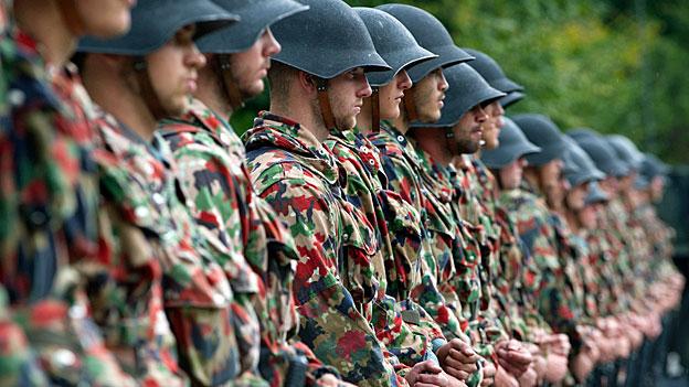 Klein, agil, teurer - die Pläne für die Schweizer Armee