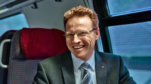 SBB-CEO Andreas Meyer über mehr Passagiere und mehr Güter