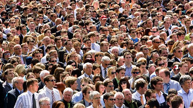 2023 werden neun Millionen Menschen in der Schweiz leben