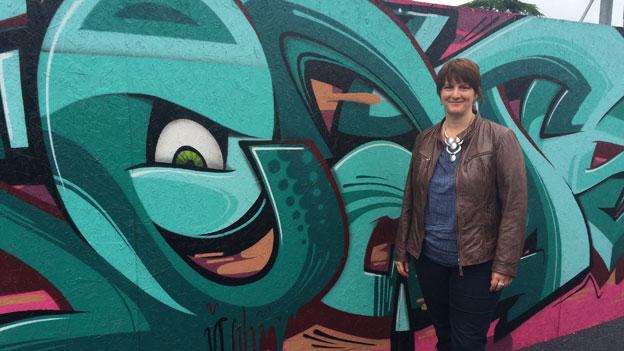 Mit dem Putz-Abo gegen Graffitis