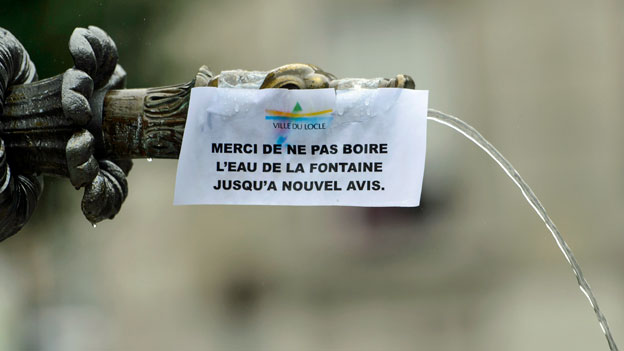 Raschere Warnung bei verseuchtem Trinkwasser
