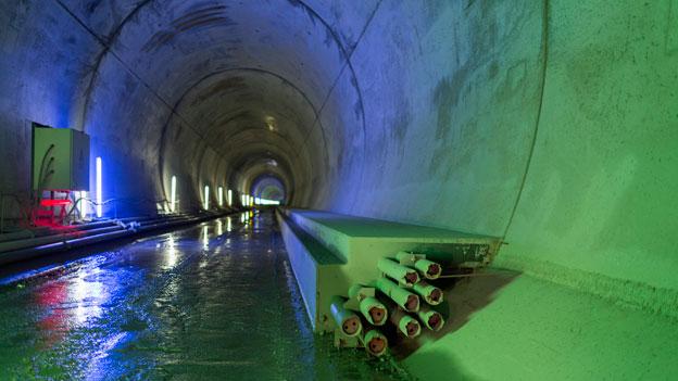 Neat-Bahntunnel: Eröffnung im Juli 2016