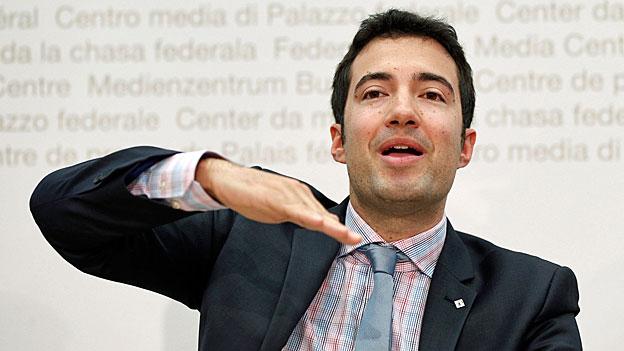 Wahlen 15 - «Parteiencheck»: Andrea Caroni, FDP-Nationalrat