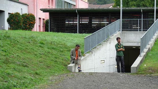 Ankunft von Flüchtlingen in der Schweiz verläuft geordnet