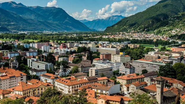 Bellinzona - bald zehntgrösste Schweizer Stadt?